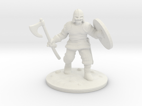 viking axe in White Natural Versatile Plastic