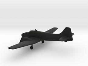 Fokker S.13 Universal Trainer in Black Natural Versatile Plastic: 1:200