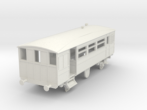 o-76-kesr-steam-railcar-1 in White Natural Versatile Plastic