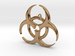 Biohazard in Polished Brass