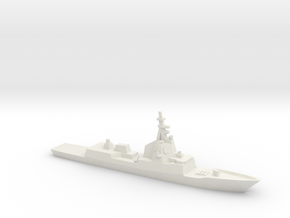 ESPS Álvaro de Bazán-class Frigate, 1/2400 in White Natural Versatile Plastic