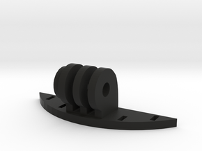 Dye i4 GoPro Mount in Black Natural Versatile Plastic