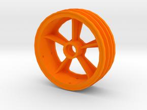 losi jrx2 front wheel in Orange Processed Versatile Plastic