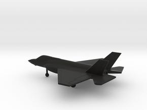 Lockheed Martin F-35C Lightning II in Black Natural Versatile Plastic: 1:200