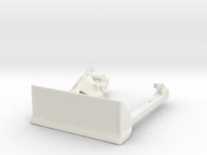 m4  sherman dozer 1/72  in White Natural Versatile Plastic