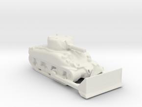m4  sherman dozer 1/100 in White Natural Versatile Plastic
