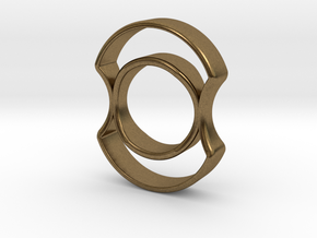 Micro Spinner in Natural Bronze