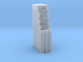 Battle Damaged Building in Smooth Fine Detail Plastic