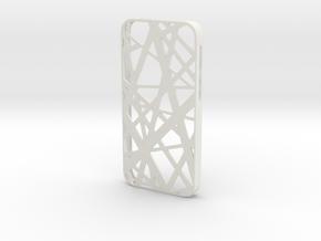 iPhone SE/5S case_Intersection in White Premium Versatile Plastic