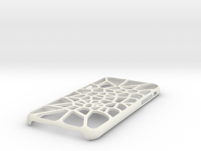 iPhone 6 / 6S case_Cell Division in White Premium Versatile Plastic