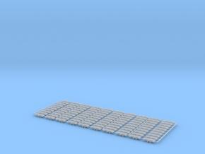 2-Steg-Ketten für Liebherr HS883 1:87 100 Stück in Smooth Fine Detail Plastic
