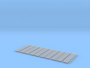 Ketten für Liebherr HS883 1:87 100 Stück in Smooth Fine Detail Plastic