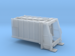Dumpster body for truck - Benne à ordure - HO in Smooth Fine Detail Plastic