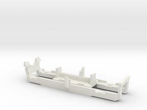 Mehano bogie onderdeel  in White Natural Versatile Plastic