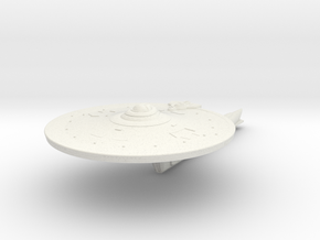Federation Nelson Class Refit Destroyer in White Natural Versatile Plastic