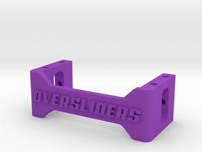 SERVO BRACE MOUNT in Purple Processed Versatile Plastic