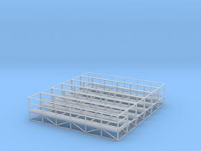 1/64 Handrail Catwalk 6pc in Smooth Fine Detail Plastic