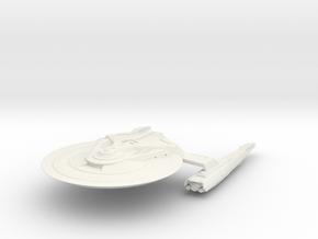 Federation Hawk Class  Destroyer  larger in White Natural Versatile Plastic