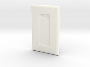 Philips HUE Dimmer 1 Gang Switch Plate in White Natural Versatile Plastic