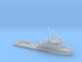 1/1250 Scale USS Apache T-ATF-172 in Smooth Fine Detail Plastic