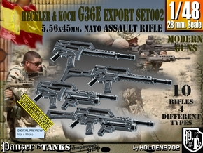 1/48 Heckler Koch Rifle G36E Export Set002 in Smoothest Fine Detail Plastic