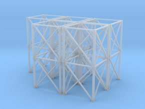 1/64 10' Support Tower 100' in Smooth Fine Detail Plastic