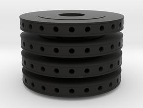 TAMIYA 1:12 MP4-6 BRAKE DISC-EQUAL in Black Natural Versatile Plastic