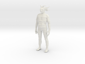 Printle V Homme 1499 - 1/28 - wob in White Natural Versatile Plastic