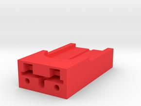 Aftor Spinner Bracket in Red Processed Versatile Plastic