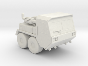 MK48 tractor 1:220 scale in White Natural Versatile Plastic