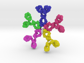 Immunoglobulin M  (IgM) in Full Color Sandstone