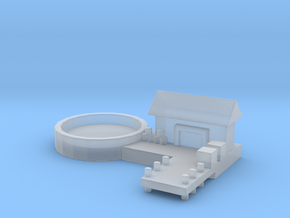 Naval Base Option 1 in Smooth Fine Detail Plastic