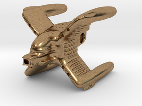 The famous X-blade freighter in Natural Brass