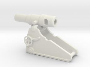 russian heavy 8 inch cannon m 1877 1/144  in White Natural Versatile Plastic
