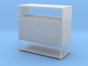 Sideboard/Storage 1:12 in Smooth Fine Detail Plastic