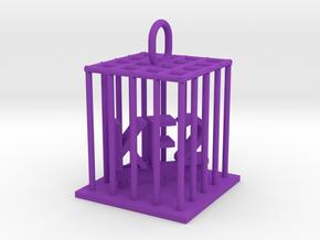 KF2 Jail Bird in Purple Processed Versatile Plastic