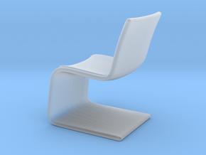 Miniature Atlantic Chair - Bugatti Home in Smooth Fine Detail Plastic: 1:12