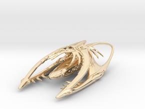 Jill in 14k Gold Plated Brass: d4