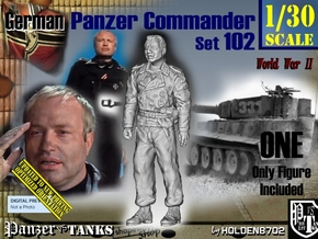 1/30 German Tanker Karl-Otto Set102 in Smooth Fine Detail Plastic