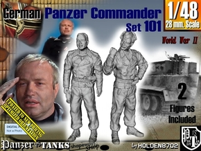 1/48 German Tanker Karl-Otto Set101 in Smooth Fine Detail Plastic