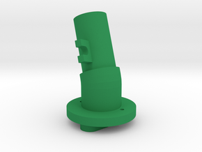 Shaft 15F-20R in Green Processed Versatile Plastic