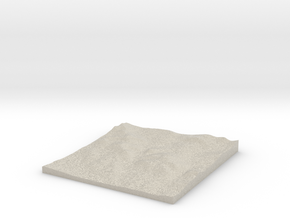 Model of Kamenica in Natural Sandstone