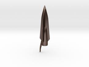 Ancient Spartan Arrowhead in Polished Bronze Steel