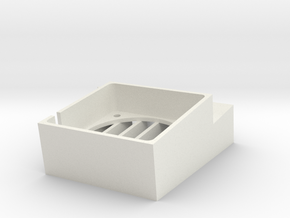Amiga Cooling Van Vent - Long in White Natural Versatile Plastic
