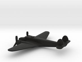 Caproni Ca.135 bis (w/o landing gears) in Black Natural Versatile Plastic: 1:200