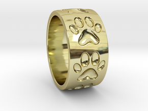 Dog Paw Ring in 18k Gold: 5 / 49