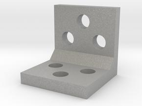 Simple L Bracket in Aluminum