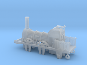 00 Scale Lion (Titfield Thunderbolt) Loco  in Smoothest Fine Detail Plastic