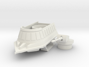 1/48 (O) Scale Cannon Sled (Prototype) in White Natural Versatile Plastic