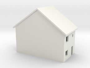 1/400 English style home in White Natural Versatile Plastic